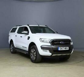 2017 FORD RANGER WILDTRACK 3.2 TDCI 200 BHP AUTOMATIC 4WD DOUBLE CAB PICKUP 4X4