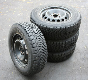 P195/65R15     SET OF FOUR ..SNOW TIRES  WITH  RIMS