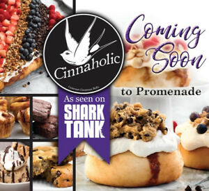 Cinnaholic expansion in Ontario