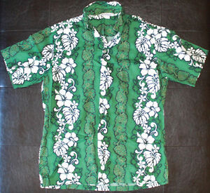 Hawaiian Shirt Made in Hawaii