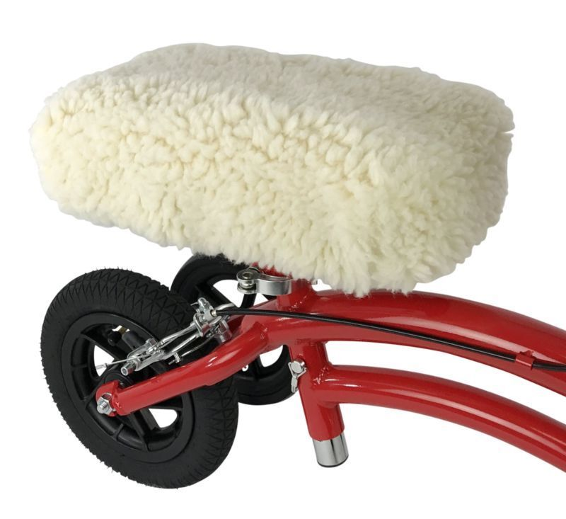 Universal Knee Walker Scooter Sheepette Pad Cover Seat Cushi
