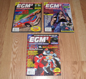 Small Collection EGM2 First Premiere 1 3 x Issues EGM magazines