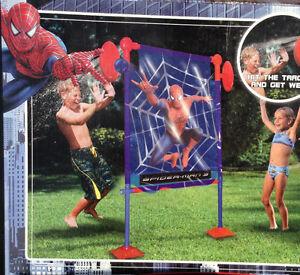 POUR L'ÉTÉ SPIDERMAN 3 WEB BLASTER DUNK TANK 2007 JAMAIS UTILISÉ