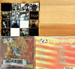 13 various music artists CD LOT $10 for all