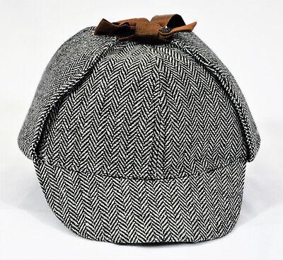 DETECTIVE SHERLOCK HOLMES DEERSTALKER COSPLAY HAT; AS SEE ON BBC UNISEX (Sherlock Hat)