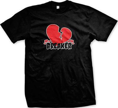 - Heart Breaker Dumped Valentine's Day Single Flirty Girl Love Date Mens T-shirt