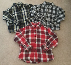 Boys Size 6-7 Button Up Shirts