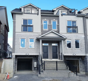 Brand New End Unit Townhome for Lease in Whitby!