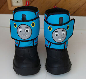 Thomas the Tank Engine Winter Boots size 11