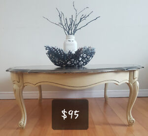 Refinished Solid Wood Coffee Table