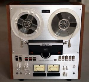 Sony TC-558. 6-Head Reel to Reel Tape Recorder, Auto Reverse