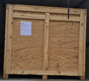 Plywood shipping crate