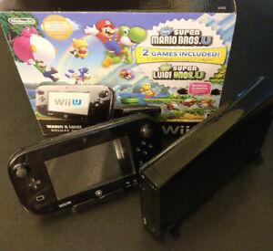 Wii U 32 GB + manette + nun chuck + 6 jeux