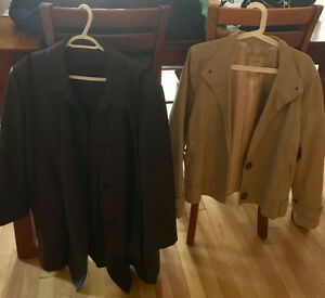 Womans Leather and Light Jacket size XL
