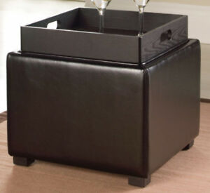 Storage Ottomans (coffee/ side tables)