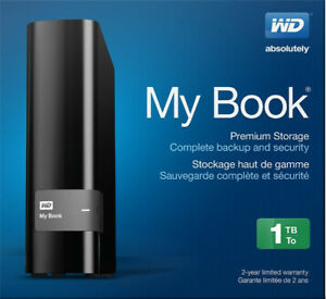 WD my book 1 TB  with non WD drive inside