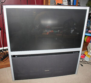 50 inch Toshiba Rear Projection