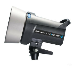 5 Elinchrom Strobes, Strip Boxes Power Supply + more