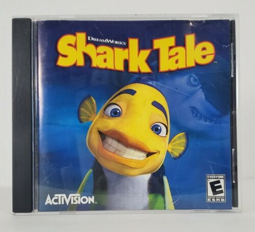 Shark Tale (CD-Rom) PC Game, DreamWorks, Activision