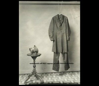 Abraham Lincoln Death Clothes PHOTO Hat & Coat Assassination Civil War President - Abraham Lincoln Coat