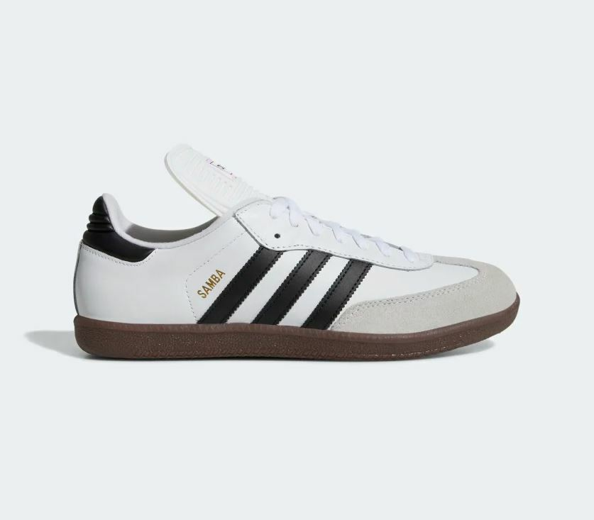 Adidas Men's SAMBA CLASSIC Shoes Cloud White/Black 772109 b
