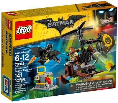 LEGO 70913 The LEGO Batman Movie Scarecrow Fearful Face-off - New in Sealed Box