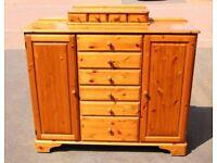 Ducal Pine Dresser - Drawers & Cupboards