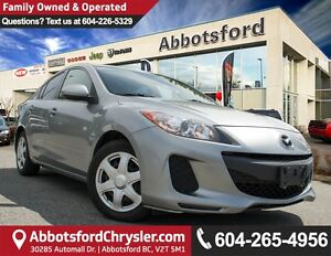 2012 Mazda Mazda3 GX Local & Accident Free!