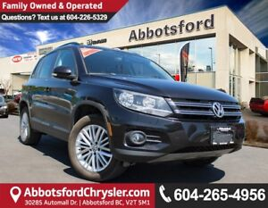 2016 Volkswagen Tiguan Special Edition ACCIDENT FREE!