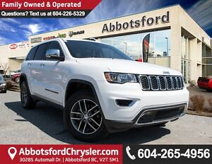2017 Jeep Grand Cherokee Limited Sunroof, Heated Front & Rear...
