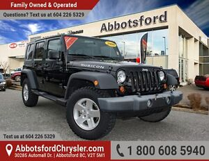 2009 Jeep Wrangler Unlimited Rubicon Low Kilometers