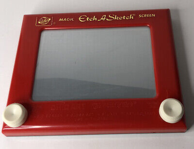 Etch A Sketch Ohio Arts Vintage Red 505 Working