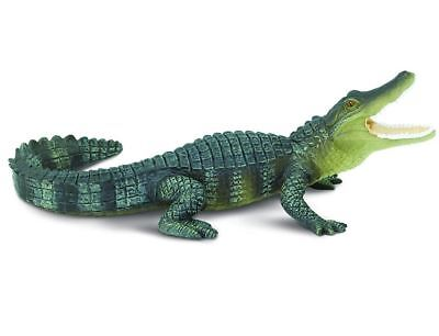 Best Lifelike Alligator Animal Statue Sculpture Outdoor Display Garden Lawn New