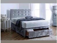 👐🏽Brand new Divan beds with headboard and mattress