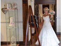 Mon cheri ivory lace wedding dress