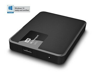 Western Digital WD My Passport Ultra 500Gb Portable External Hard Drive Black