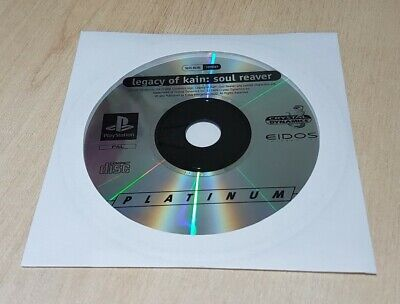 PS1 Legacy of Kain Soul Reaver  Disc Only Playstation 1 PS2 PS3 Game Uk Pal