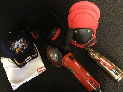 Hilti Dcg 500-s Angle Grinder Likke New Free Thermo A Lot Of Extra Fast Ship