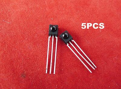 5pcs Ir Receiver Module 38 Khz Tsop4838 Dip-3  Mjl6