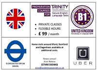 English for Private cab, uber drivers. B1 SELT (£99 / month)