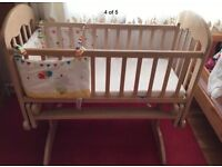 Swinging COSATTO BABY CRIB- best quality-good condition