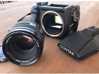 Contax 645 with 80mm Planar lens