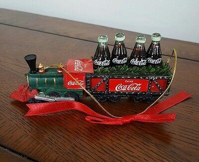 Coca Cola Christmas Ornament - Train