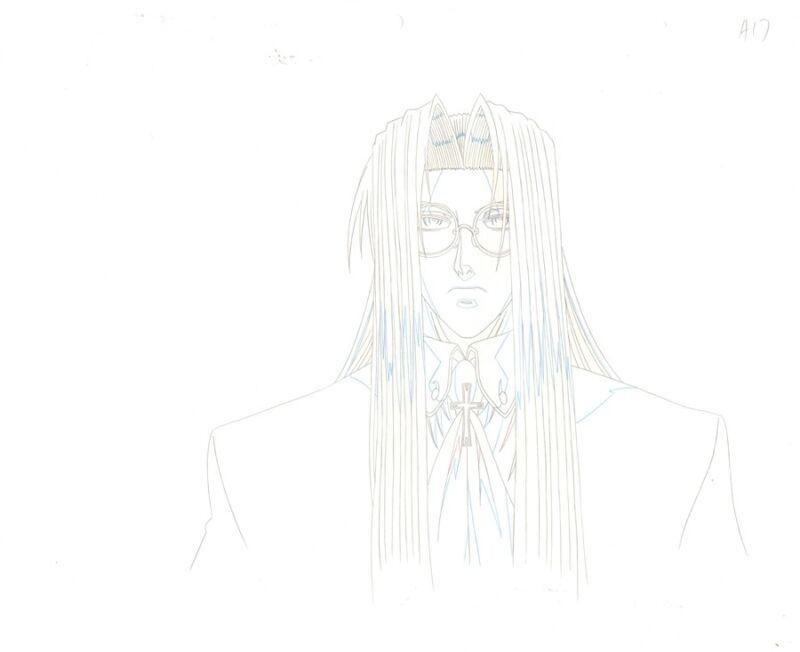 Anime Douga not Cel Hellsing #3
