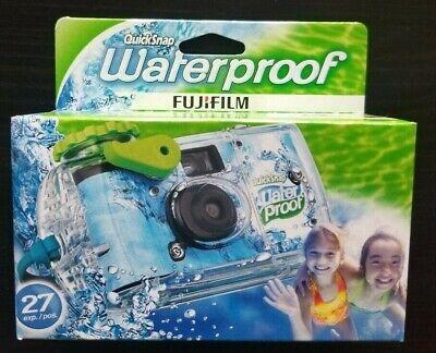 Fujifilm Quick Snap Waterproof 27 exp. 35mm Camera 5 Pack