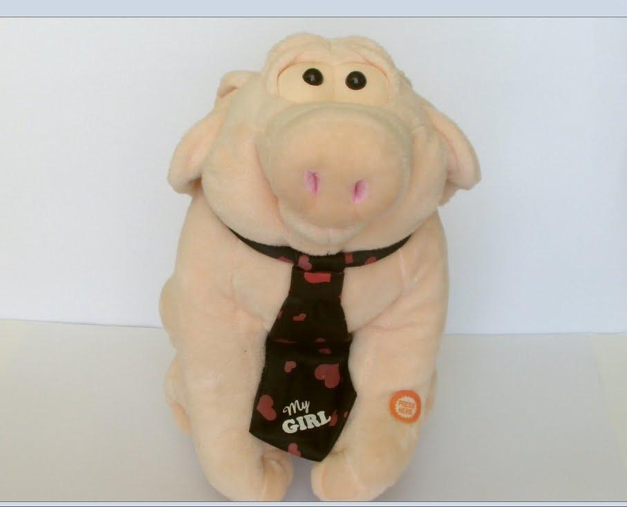 Porker The Singing Pig Sings -4628