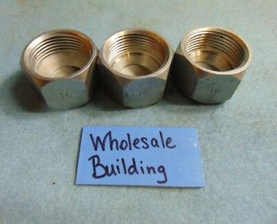 Ingersoll Rand Hydraulic Hose Cap Fittings 16 1 Domed F2f 1-1516 Lot Of 3