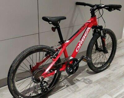 Orbea MX20 Dirt 20-Inch Kids Mountain Bike Red