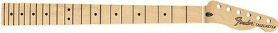 "Fender Deluxe Series Telecaster Neck, 22 Narrow Tall Frets, 12"" Radius, Maple"