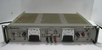 Kepco Model Hb4a Regulated Dc Power Supply